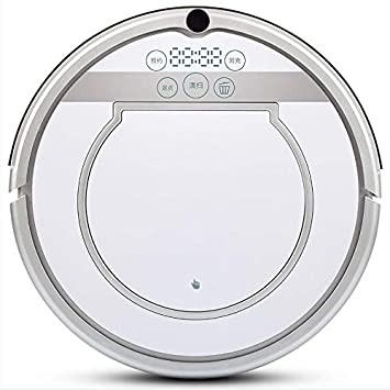 MOREJUN Robot De Barrido, Aspiradora Automática Doméstica Máquina De Trapeado De Barrido para La Baldosa