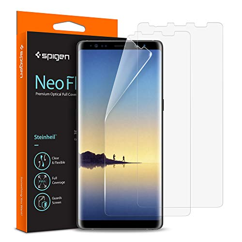 Spigen NeoFlex Galaxy Note 8 Screen Protector [ Case Friendly ] for Samsung Galaxy Note 8 (2 Pack)