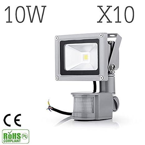 10 x 10 W/20 W/30 W/50 W LED Foco Foco
