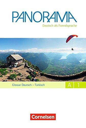 Panorama: A1: Gesamtband - Glossar Deutsch-Türkisch