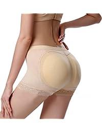 Womens Seamless Butt Lifter Padded Lace Panties Enhancer Underwear
