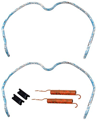 ACDelco 18K1147 Professional Rear Drum Brake Shoe Adjuster and Return Spring Kit with Springs and Caps ()
