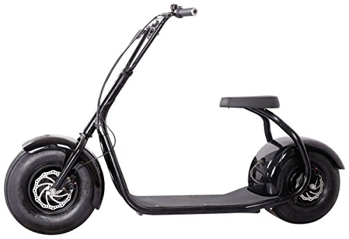 Seev 800 Electric Lifestyle Fat Tire Scooter 800w Hub