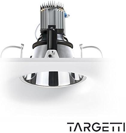 targetti Arc Kripton Proyector Foco empotrable de techo 1 x 100 W ...