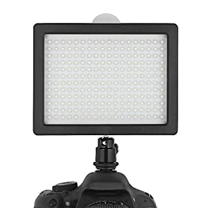 Chromo Inc. 160 LED CI-160 Dimmable Ultra High Power Panel Digital Camera / Camcorder Video Light, LED Light for Canon, Nikon, Pentax, Panasonic,SONY, Samsung and Olympus Digital SLR Cameras