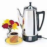 PRESTO 02811 STEEL COFFEE MAKER 12CUP 800WATTS