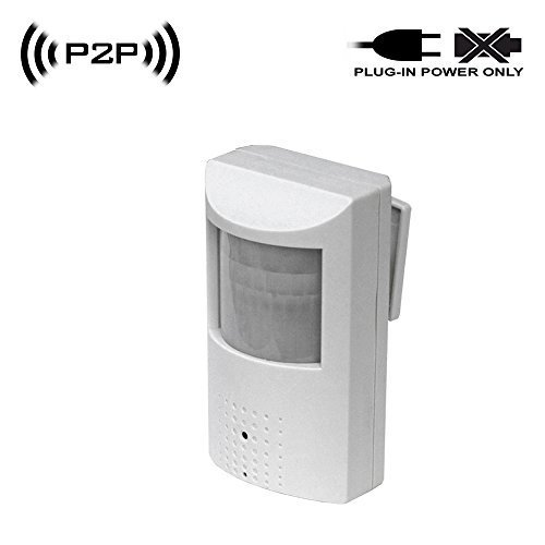 SCS Spy Camera with WiFi Digital IP Signal, Recording & R...