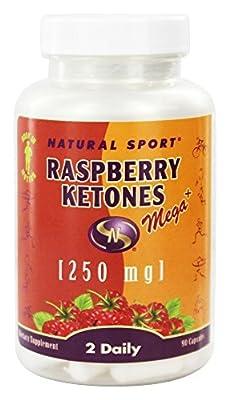 Natural Sport - Raspberry Ketones Mega + 250 mg. - 90 Capsules
