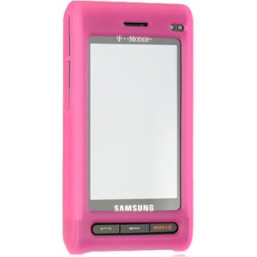 Amzer Silicone Skin Jelly Case for Samsung Memoir T929 - Baby Pink ()