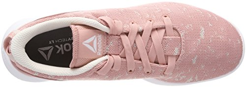 Greywhite Women's Pink Bs9489 Pinkpale Pinkpowder Reebok Gymnastics Chalk Shoes fqFxCn8Pw