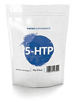 5-HTP Polvo Puro y Natural | Extracto de Griffonia Simplicifolia de Focus Supplements |