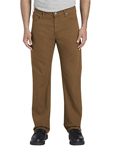 FLEX Regular Fit Straight Leg Tough MaxTM Duck 5-Pocket Pants