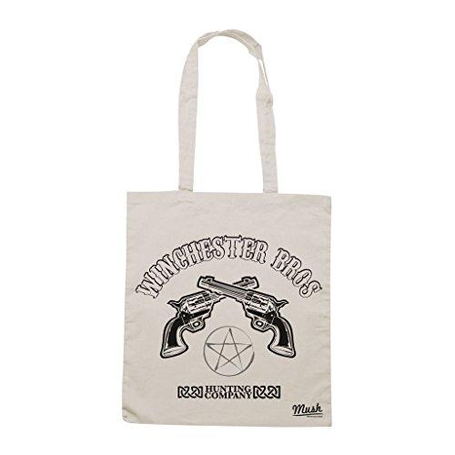 Borsa Supernatural Winchester - Panna - Film by Mush Dress Your Style Nuevo Alta Calidad Estilo De La Moda Barata Descuento Del Envío Auténtica fyjKxqHyx