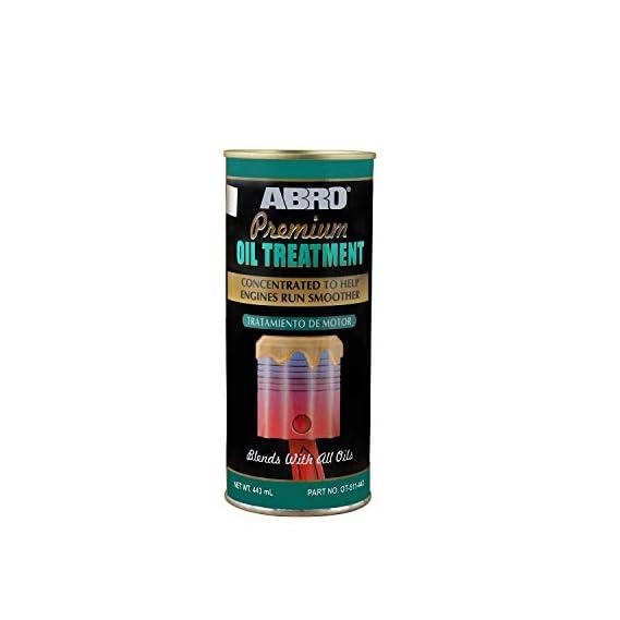 Abro OT-511-300 Petrol & Diesel Engine Oil Treatment Friction & Sound Reducer for Car SUV & Auto (443ml)