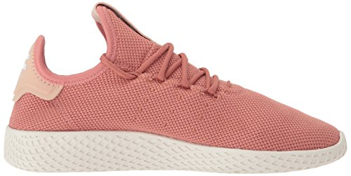 Adidas Women's PW Tennis hu W Sneaker, Ash Pink/Ash Pink/chalk White, 6 Medium US