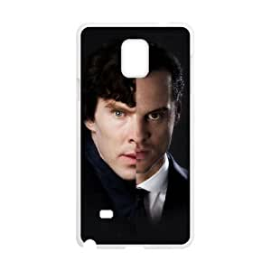 SamSung Galaxy Note4 phone cases White Sherlock fashion cell phone cases ITRO8376468