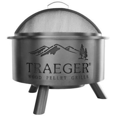 Traeger OFP001 Outdoor Fire Pit Large Black
