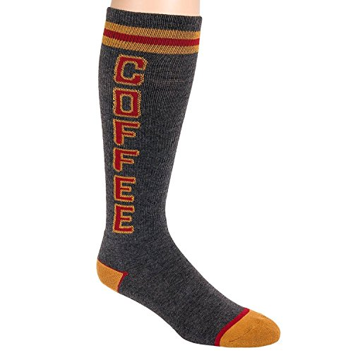 Gumball Poodle Coffee Knee High Tube Socks -