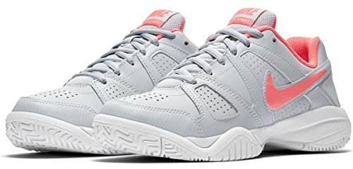 002 Gris Court Para Platinum Punch De 7 38 hot Zapatillas City Eu Mujer gs pure Nike white Tenis ZqgRzwp5