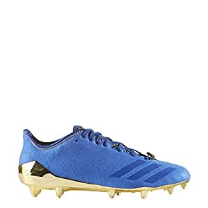 Adidas Adizero 5Star 6.0 Sunday's Best Cleat Men's Football 10 Collegiate Royal-Royal-Metallic Gold