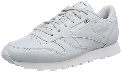 Reebok WoMen Classic Leather X Face Trainers, Beige Multicolour (Reflection Blue/White/Black 0)