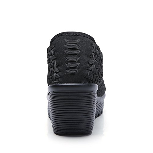 Black 889 Donna Foam Memory SDF Sandali HKR HWgnwY4Rq0