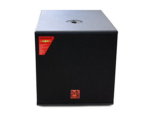 Mr. Dj PRO5000AMP 15'' 5000W Professional Series Active/Pre Amplified Subwoofer by Mr. Dj