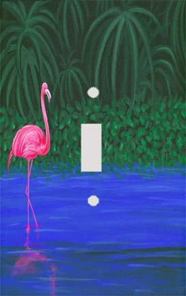 Flamingo Lake Switchplate - Switch Plate Cover