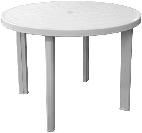Table en plastique Table terrasse Blanc Table de balcon ...