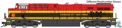Walthers Mainline 910-10172 General Electric GEVO Kansas City Southern 4803