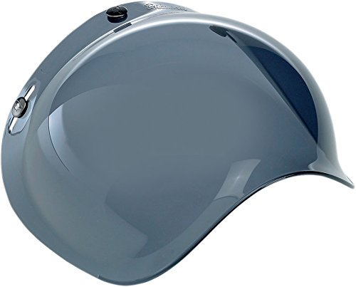 BILTWELL Injection-molded Helmet Shield Bubble Smoke Universal by Biltwell