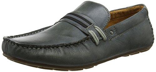 Steve Madden Men's Gander Loafer Moccasins Grey (Light Grey) TEoSj2I
