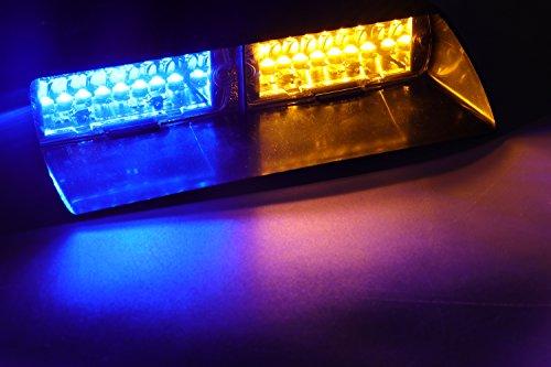 Blue Led Emergency Vehicle Lights in US - 8