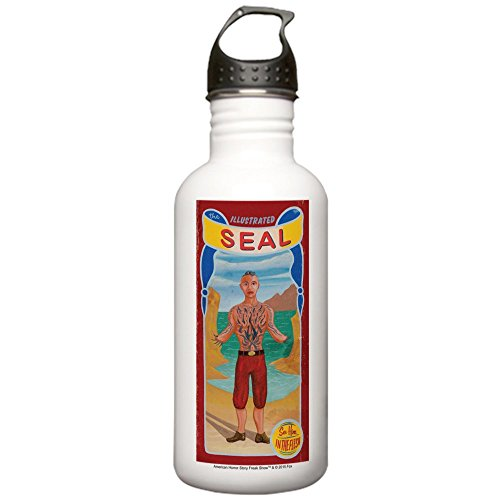 CafePress - AHS Freak Show Seal Stainless Water Bottle 1 - Stainless Steel Water Bottle, 1.0L Sports - Ahs Show