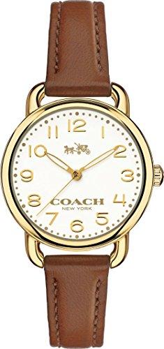 Coach 14502248 Ladies Delancey Brown Leather Strap -