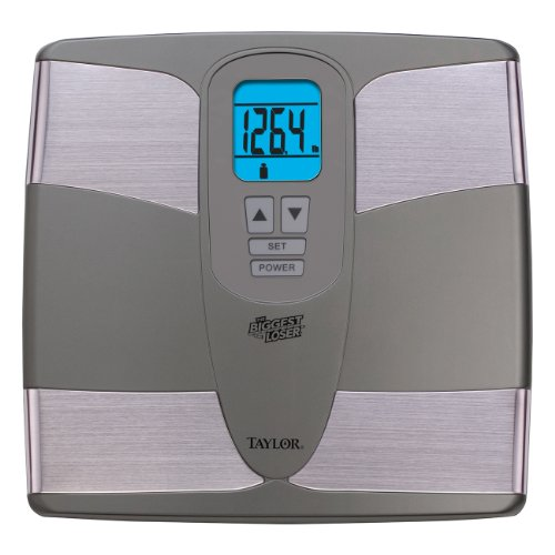 Taylor Precision Products The Biggest Loser Body Fat Analyzer Scale by Taylor Precision Products