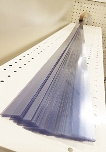 Gondola Shelving Pre Cut Vinyl Insert Strips for Ticket Channel 48