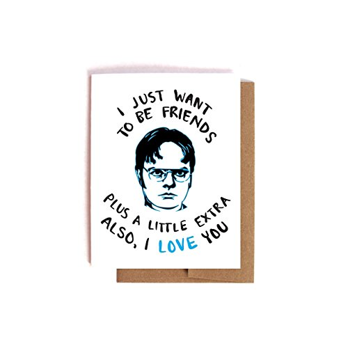 Amazon Com A Little Extra Dwight Schrute The Office Valentine S Day