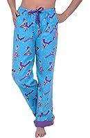 Del Rossa Women's Flannel Pajama Pants, Flip Cuff Cotton Pj Bottoms