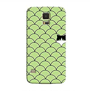 Cover It Up - Cat In Grass Galaxy S5Hard Case