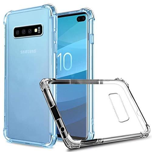 Capinha Silicone Transparente Antichoque Samsung S10 G973F