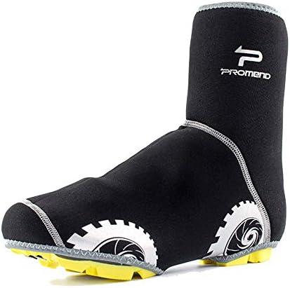 自転車靴カバー サイクリングバイク防水オーバーシューズ防風性耐候性ヘビーデューディッドリフレクティブ・プロテクション・カバー 雨や雪の日に適しています (Size : M)