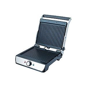 Bajaj Majesty Grill Ultra Sandwich Press and Open Contact Grill,Black