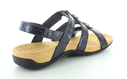 Womens Synthetic marino Vionic Amber 44 azul Cocodrilo Rest Sandals 7gwdqwpAx