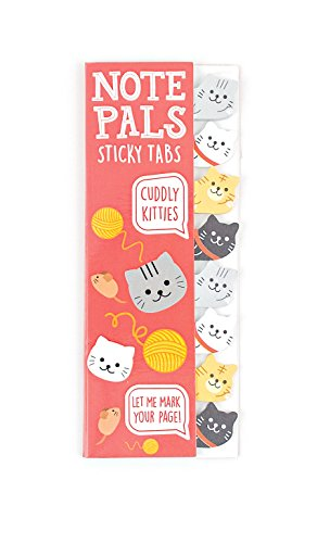 (Ooly Note Pals Mini Sticky Tabs - Cuddly Kitties - 120 Paper)