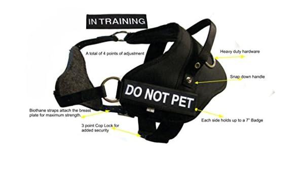 Redline K9 Pequeño Doble Propósito Arnés del perro - Protección de ...