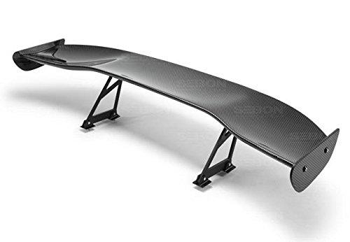 Seibon Alerón trasero de fibra de carbono universal estilo Gt por Jm Auto Racing (Gtwing-1)