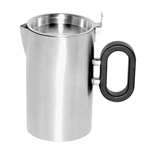 (Mod18 Steelworks SB-26 Double Wall Creamer, 9 oz., Brushed Stainless)