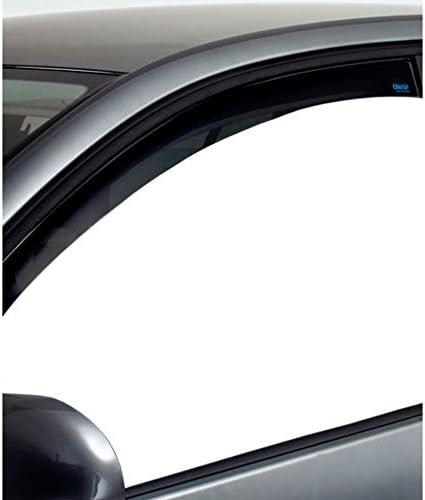 ClimAir Window Visors Dark compatible with Dacia Sandero//Stepway//Logan MCV 5 doors 2013