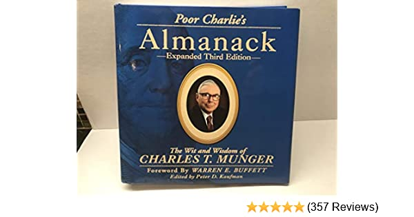 Hardcover Munger Expanded Third Edition Poor Charlies Almanack: The Wit and Wisdom of Charles T